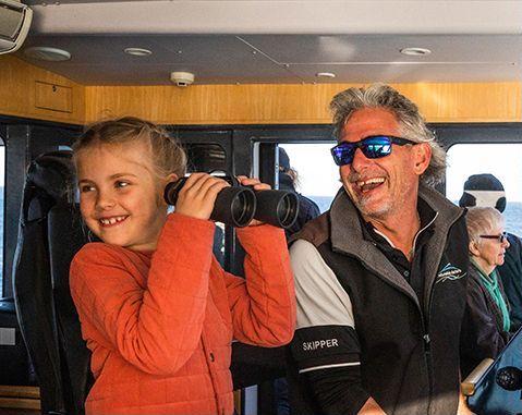 Australian Wildlife Journeys - Naturaliste Charters - Captain Dundee